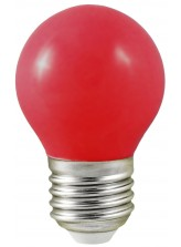 ampoule LED E27 DECO rouge | Led Flash