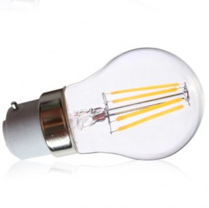 Ampoule led COB filament B22 4 watt (eq. 35 watt)