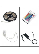 Kit Bandeau led RGB 24 watt - telecommande | Led Flash