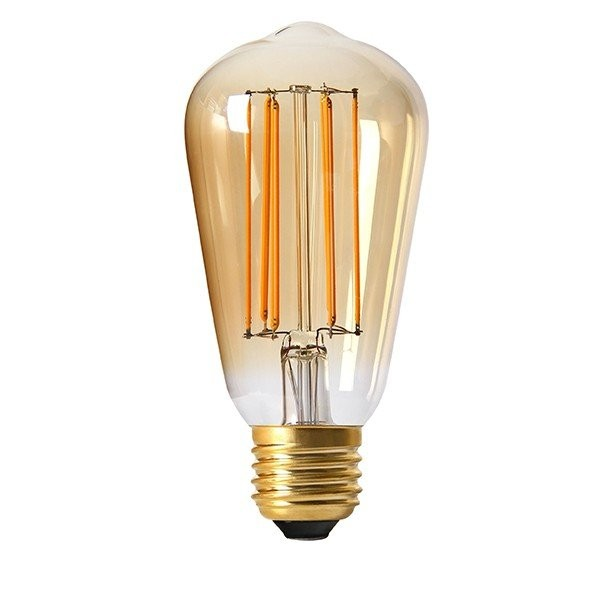 ampoule led edison st64 filament e27 dimmable 4 watt eq 30 watt ambr achat ampoule led. Black Bedroom Furniture Sets. Home Design Ideas