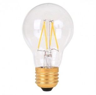 Ampoule led filament E27 8 watt dimmable (eq. 75 watt)