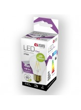 Ampoule led filament E27 6 watt (eq. 70 watt) 2700°K | Led Flash