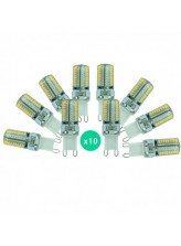 Lot de 10 ampoules led G9 3 watt (eq. 30 watt) | Led Flash