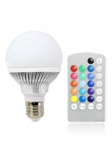 Ampoule LED E27 multicolore télécommandée | Led Flash