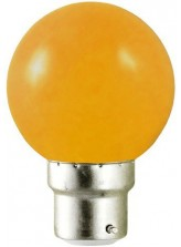 Ampoule LED B22 RGB DECO Orange | Led Flash