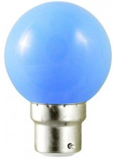 Ampoule LED B22 RGB DECO Bleue | Led Flash