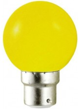 Ampoule LED B22 RGB DECO Jaune | Led Flash