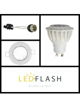 Kit Spot LED GU10 7W | Led Flash