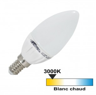 Ampoule led flamme E14 4 watt (eq. 30 watt)