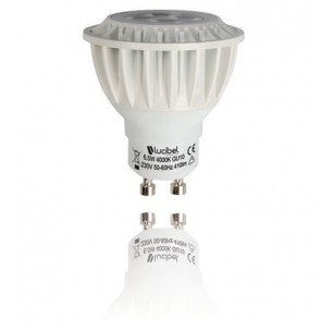 Spot led GU10 6,5 watt Dimmable Lucibel