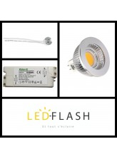 Kit Spot LED GU5.3 COB | Led Flash