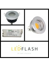 Kit LED GU5.3 étanche | Led Flash