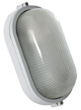 Hublot oval aluminium blanc 60W | Led Flash