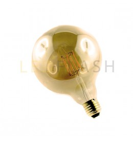 Ampoule led E27 filament G125 8 watt (eq. 70 watt)