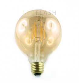 Ampoule led E27 filament G95 8 watt (eq. 70 watt)
