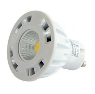 Spot led GU10 COB ceramique 4 watt (eq. 40 watt)