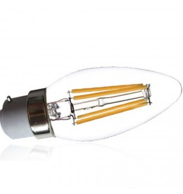 Ampoule led filament flamme B22 4 watt (eq. 35 watt) | Led Flash