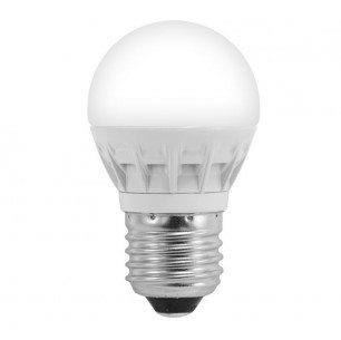Ampoule led E27 bulb 4 watt (eq. 25 watt)