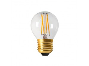 Ampoule led filament G45 E27 4 watt dimmable  (eq. 30 watt)