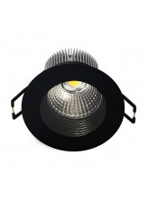 LED Encastrable fixe 8,5W carré rond | Led Flash