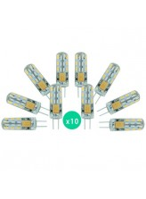 Lot de 10 ampoules LED G4 1,5 watt (eq. 10 watt) | Led Flash