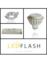 Kit Ampoule spot Led GU5.3 Dimmable I Led Flash