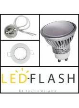 Kit LED GU10 7W (eq.50W) I Led Flash