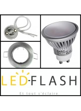 Kit LED GU10 7W (eq.50W)
