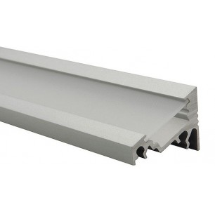 Profilé aluminium inclinable ruban led - 1 mètre