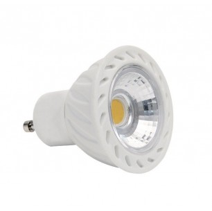 Spot led GU10 COB ceramique 7 watt Dimmable