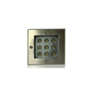 Spot led encastrable carré 9 watt (eq. 90 watt)