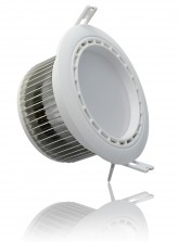 Spot led encastrable fixe avec télécommande 13 watt (eq. 130 watt) l Led Flash