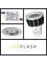 Kit spot LED MR11 3W | Led Flash