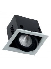 Spot led COB encastrable orientable carré 20 watt | Led Flash