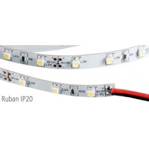 Ruban led 25 watt 12v 5 m tres blanc achat bandeau led led flash - Ruban led 12v ...