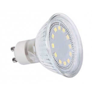 Spot led GU10 3 watt (eq. 25 watt) - 120° - 250 lumen