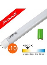 Tube néon LED T8 10W 600mm - Blanc neutre | Led-Flash