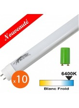 Tube néon LED T8 20W 1200mm Blanc froid | Led-Flash