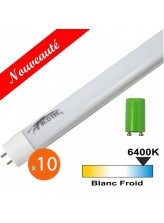 Tube LED T8 25W 1500mm x10 | Led-Flash