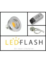 Kit spot LED GU5.3 COB 5 watt (eq. 50 watt) Dimmable | Led-Flash