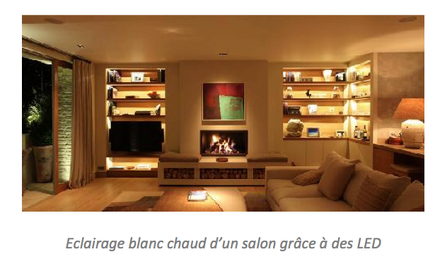 Quelle ampoule pour quel clairage led flash for Quel eclairage pour un salon