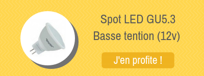 ampoules LED basse tention